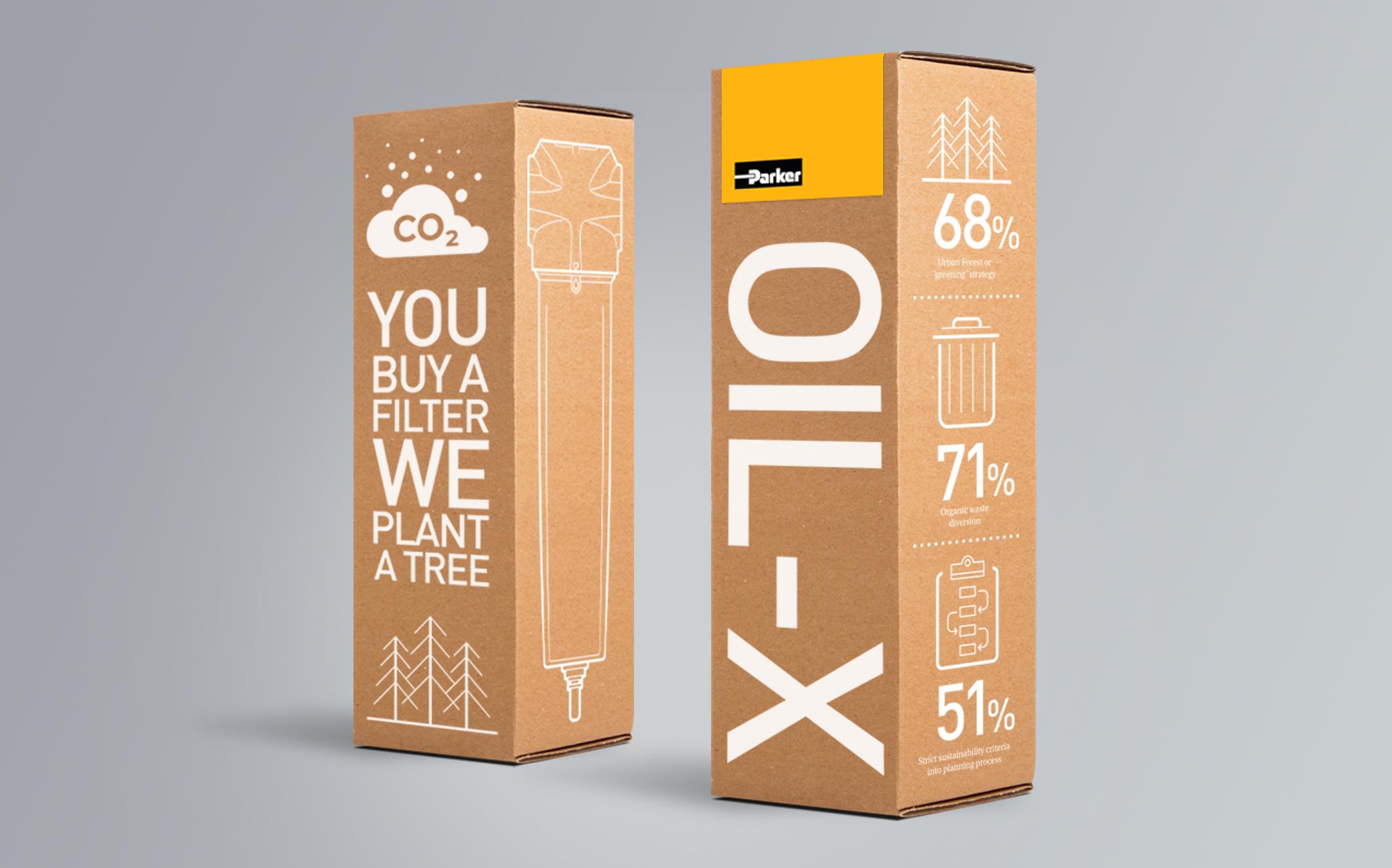 Parker OIL-X Packaging