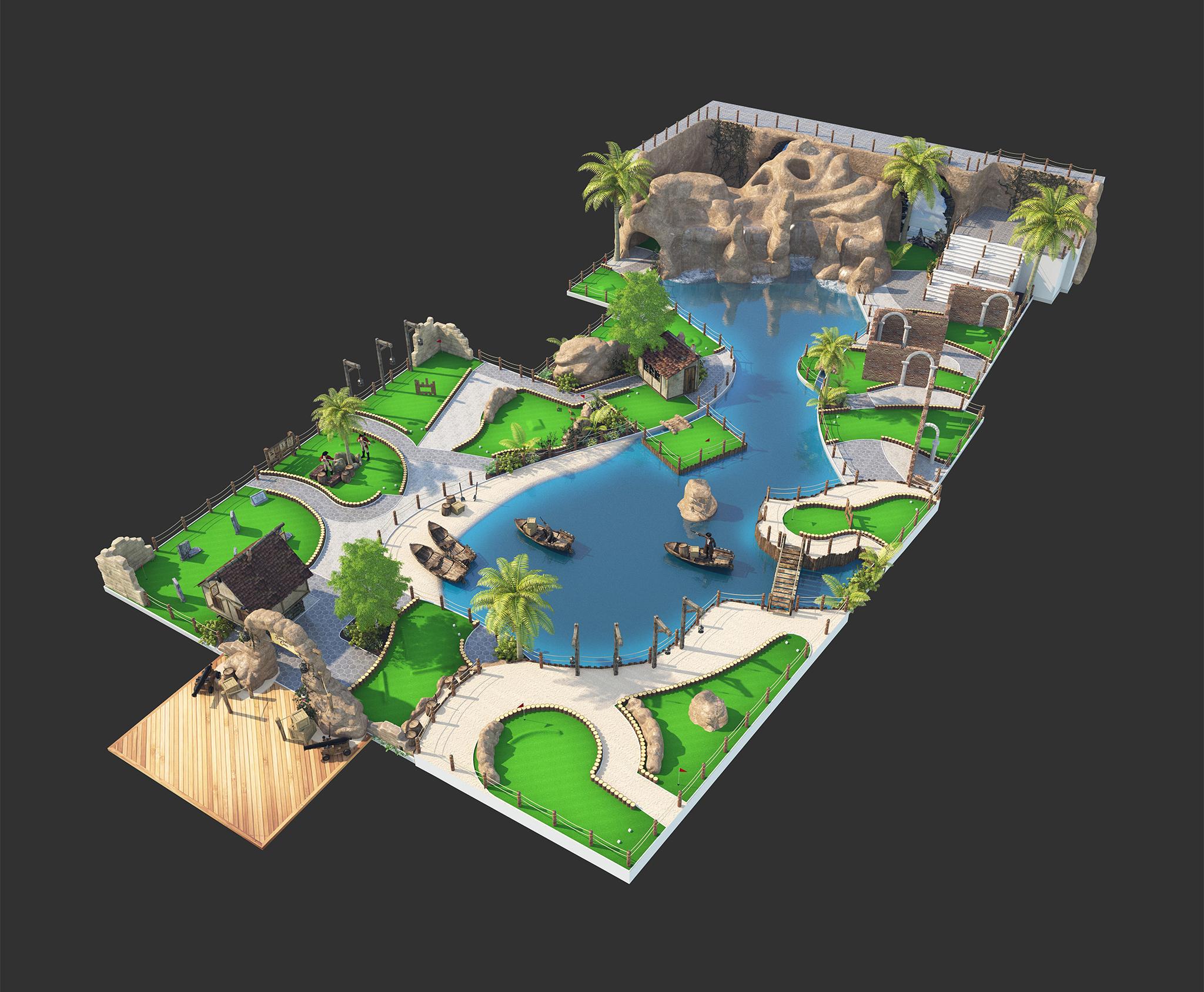 Pirate Cove Portfolio 3