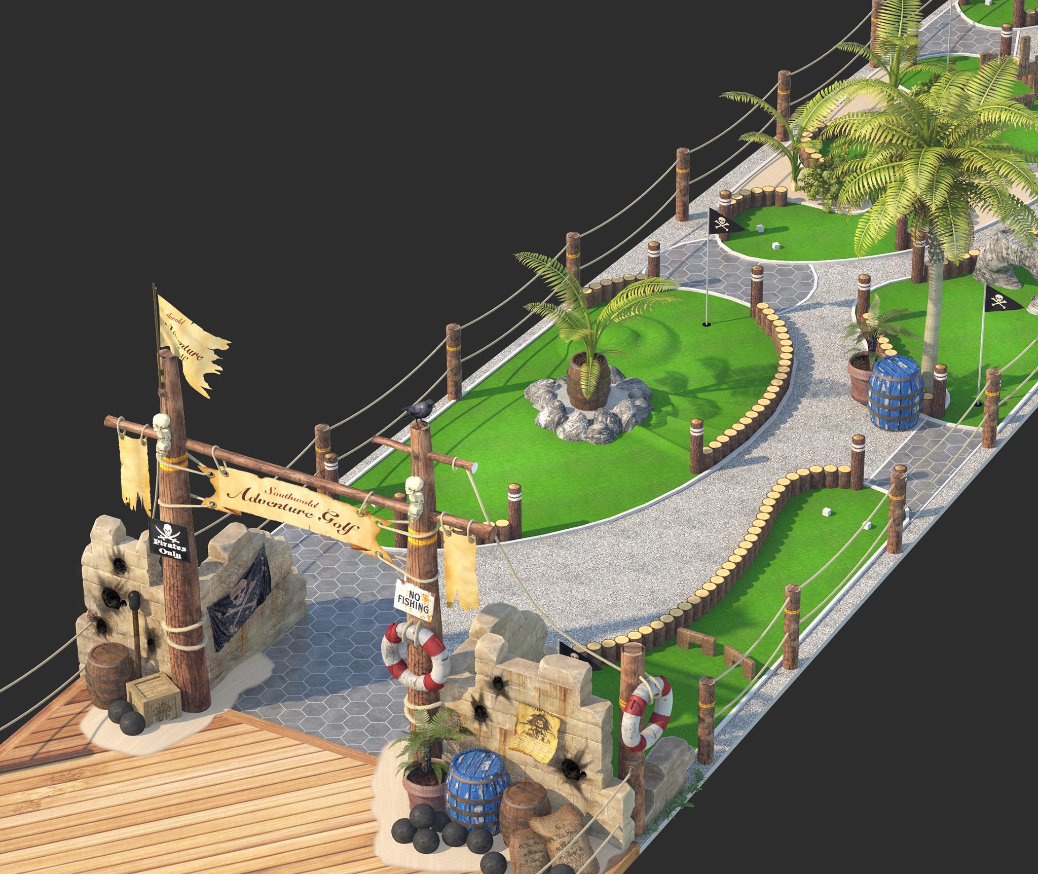 Pirate Cove Portfolio 4