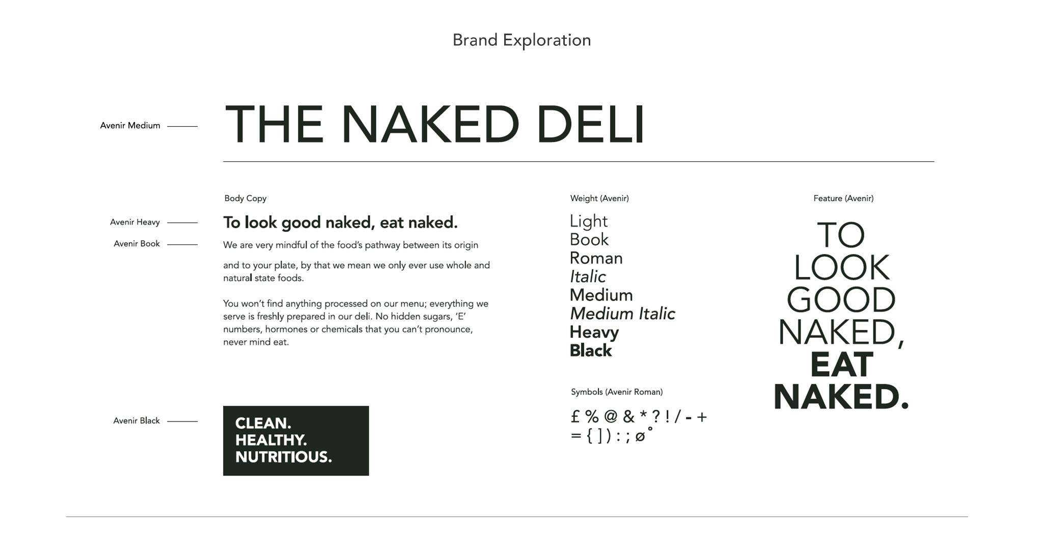 The Naked Deli Portfolio 2