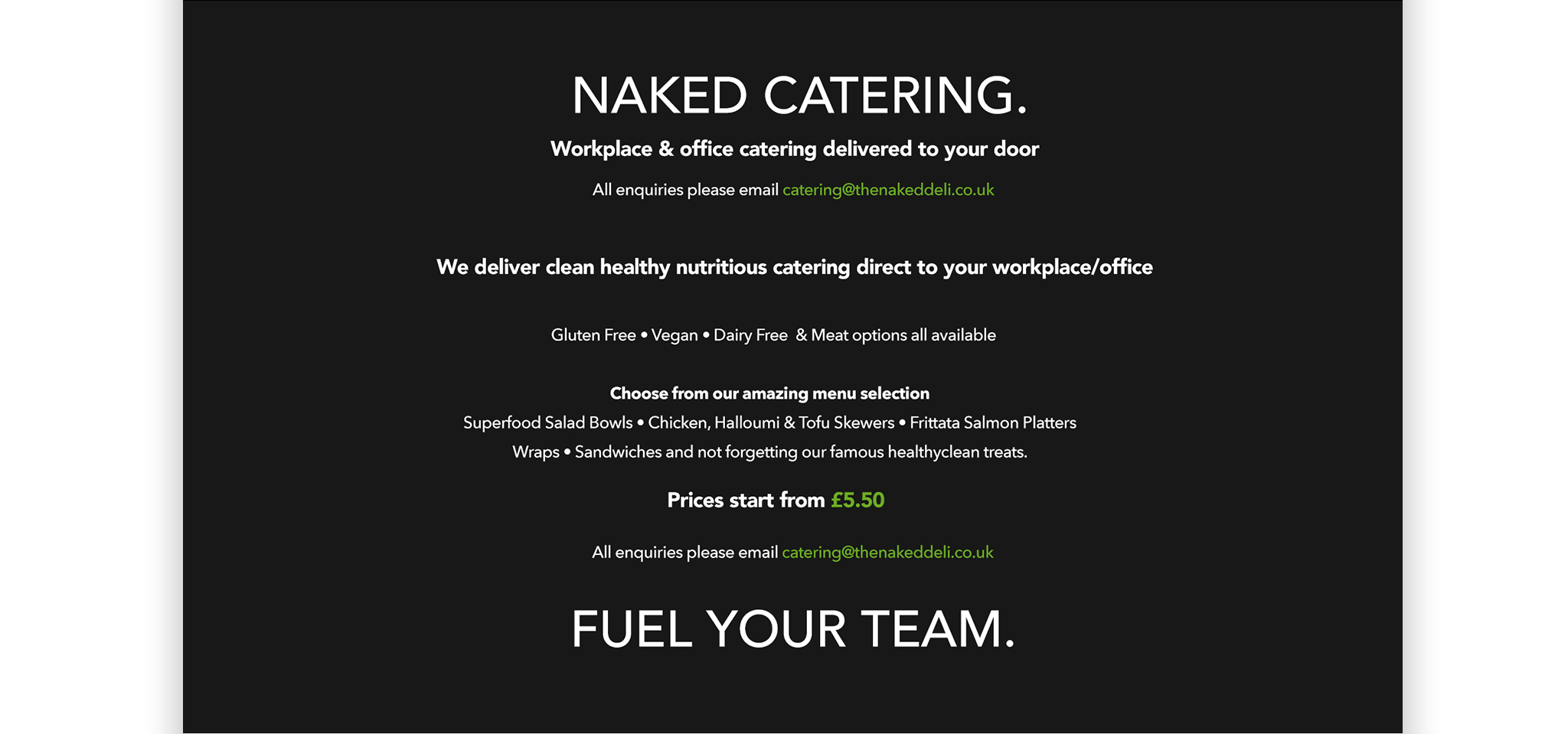 The Naked Deli Portfolio 8